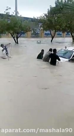 سیل به استان بوشهر رسید