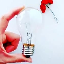 آموزش طراحی وکشیدن نقاشی رو لامپ فوق العاده زیبا