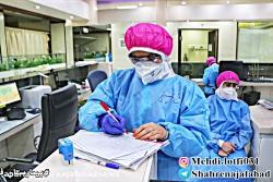 فتوکلیپی در تقدیر از کادر بیمارستان فاطمه زهرا نجف آباد