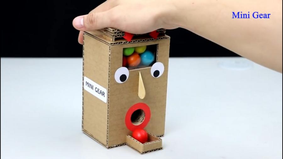 آموزش ساخت دستگاه تحویل آبنبات فانتزی برای بچه ها