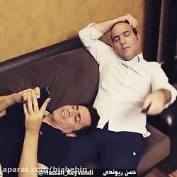 کلیپ خنده دار حسن ریوندی | یک ماه قرنطینه