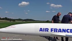پرواز بسیار ترسناک هواپیمای مدل کنکورد   ازدست ندی بدجوری سرگرم بشی عزیز FULL HD