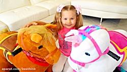 دیانا و روما ، دیانا و بازی با اسبها