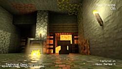 مشاهده گرافیکی بازی ماینکرافت در ایکس باکس سریس ایکس Xbox series X minecraft