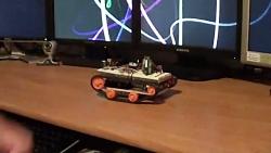 دنیایی ربات الکترونیک:حرکت ربات،با حرکت موبایل