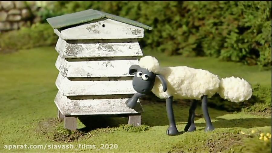 """فصل اول انیمیشن زیبای """" بره ناقلا Shaun the Sheep S01 """" // قسمت 13"""