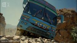 خطرناکترین مسیر اتوبوسرانی جهان!