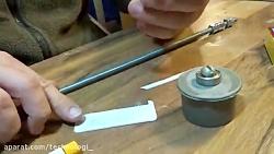ساخت پمپ آب با دریل