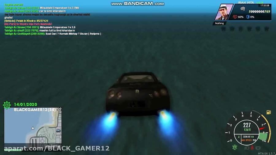گیم پلی GTA online با ماشین GTR خفن ترین ماشین دنیا