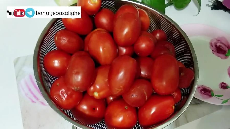 ساده ترین دستور تهیه پودر گوجه فرنگی در خانه | بانوی با سلیقه