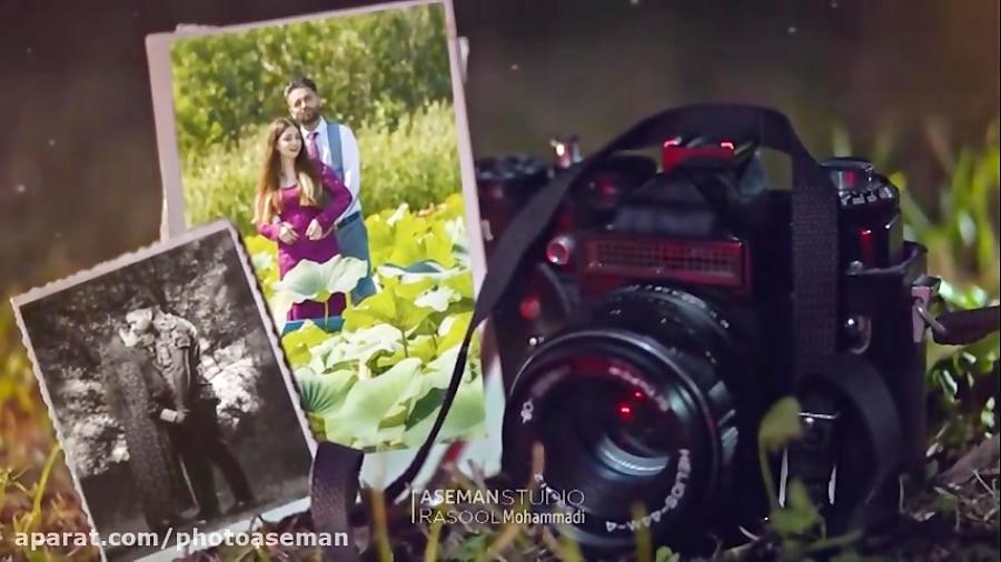 عکس و فیلم آسمان - کلیپ احساسی و عاشقانه آلبوم عکس