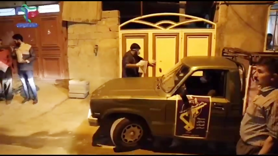 تهیه بسته عیدانه به مناسبت اعیاد شعبانیه توسط گروه جهادی مدافعان سلامت صفاشهر