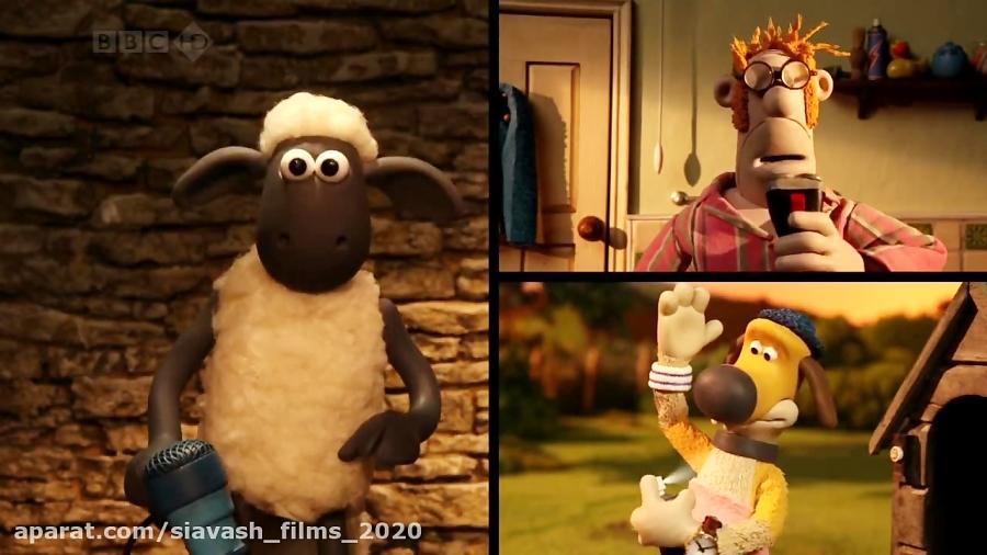 """فصل سوم انیمیشن زیبای """" بره ناقلا Shaun the Sheep S03 """" // قسمت 1"""