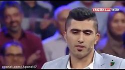 آواز خوانی تک دست میرزاجانپور , بازیکن بابلی تیم ملی والیبال در برنامه