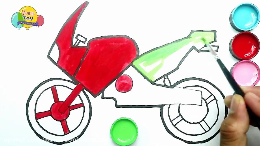 آموزش نقاشی موتور سیکلت - با آموزش نقاشی خلاقیت خود را تقویت کنید
