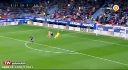 گل دوم بارسلونا به ایبا...