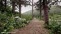 طراحی واقعگرایانه محیط جنگل در بازی Dreams - بخش اول