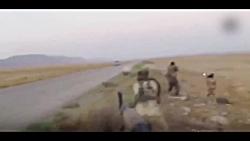 تصاویر لحظه کمین داعش ب...