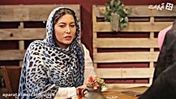 کافه پونه11- فریبا نادری: تمام کارهای سخت دنیا فدای یک خنده بچه ام