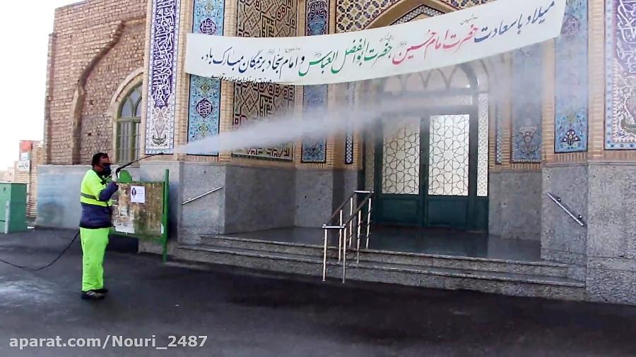 ضدعفوني معابر منطقه چهار شهرداري كاشان