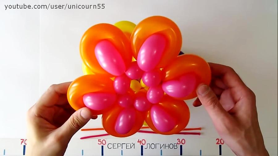 بادکنک آرایی - تزیین جشن تولد بسیار زیبا