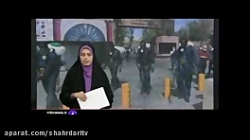 ضدعفونی تهران توسط نیر...
