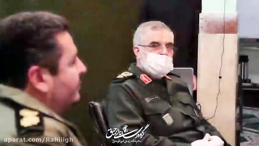 بازديد سردار پورجمشيديان از فعاليت هاي ستاد پدافند زيستي اميرالمومنين(ع)
