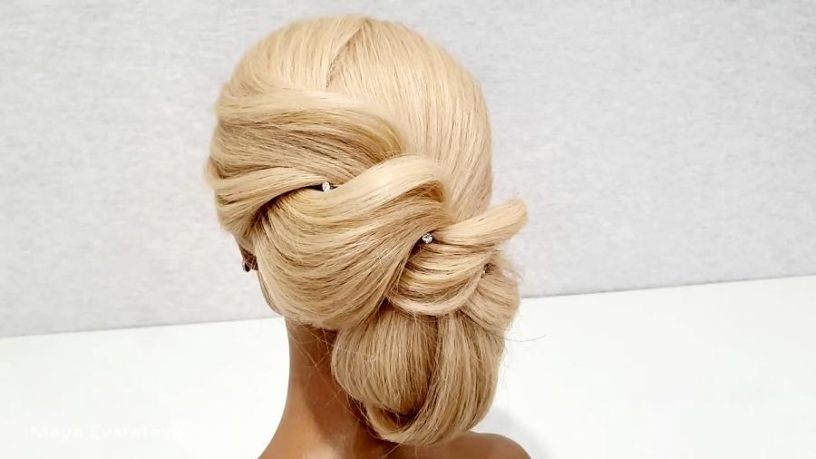Вечерняя Прическа. Легкий способ сделать СЕБЕ. Evening Hairstyle..