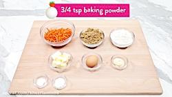 کیک پزی--تهیه کیک هویج زیبا