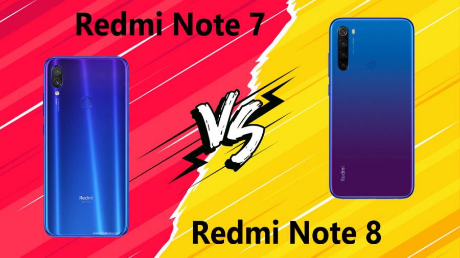 مقایسه Xiaomi Redmi Note 8 با Xiaomi Redmi Note 7