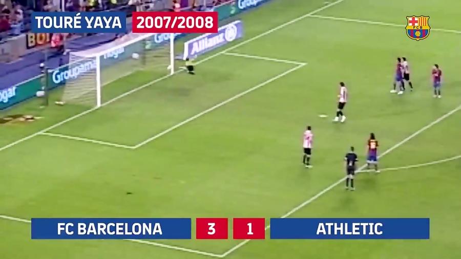 10 گل برتر بازیکنان آفریقایی بارسلونا