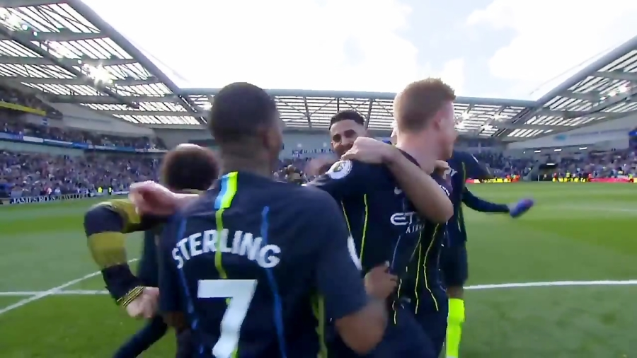 جشن کامل قهرمانی منچسترسیتی در لیگ برتر انگلیس (2018-2019)