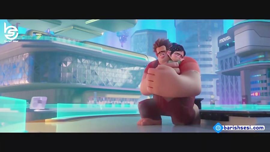 قسمتی از انیمیشن اویون بوزان رالف2 دوبله شده به زبان ترکی