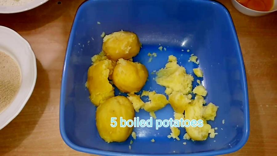 تهیه سیب زمینی کروکت، خیلی آسان و خوشمزه