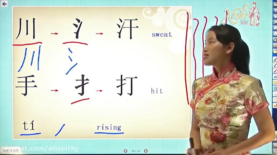 Basics of Chinese Writing (Hanzi) Part 3_3