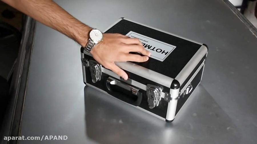 دستگاه صافکاری بدون رنگ hotmetal