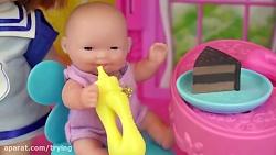 خانه بازی کودک با عروسک...