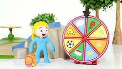 برنامه کودک قهرمانان کوچک و ماشین پاپ کورن