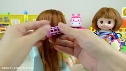 بازی آرایش و مدل موی عروسک کوچولو
