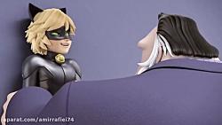 انیمیشن دختر کفشدوزکی و پسر گربه ای فصل 1 - قسمت 24