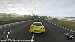 گیم پلی جذاب Forza Horizon 4 نیسان GTR