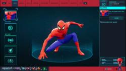گیم پلی از بازی Spider Man PS4 با لباس Spider Man Spider-Verse