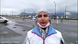 غربالگری ورودی های استان ها -سازمان جوانان