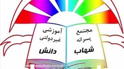 آموزش ریاضی پایه دوم ابتدایی- مبحث کسر(صفحه ی ۱۱۳ کتاب ریاضی)- دبستان شهاب دانش