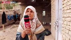 ویرانی سیل در روستای جهر (کرمان)؛ سیل تمام هستی مردم را با خود برد
