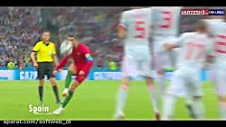 کریستیانو رونالدو Cristiano Ronaldo: متخصص ضربات ایستگاهی