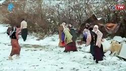 سریال نون خ 2 - برپایی سیاه چادر بخاطر زلزله