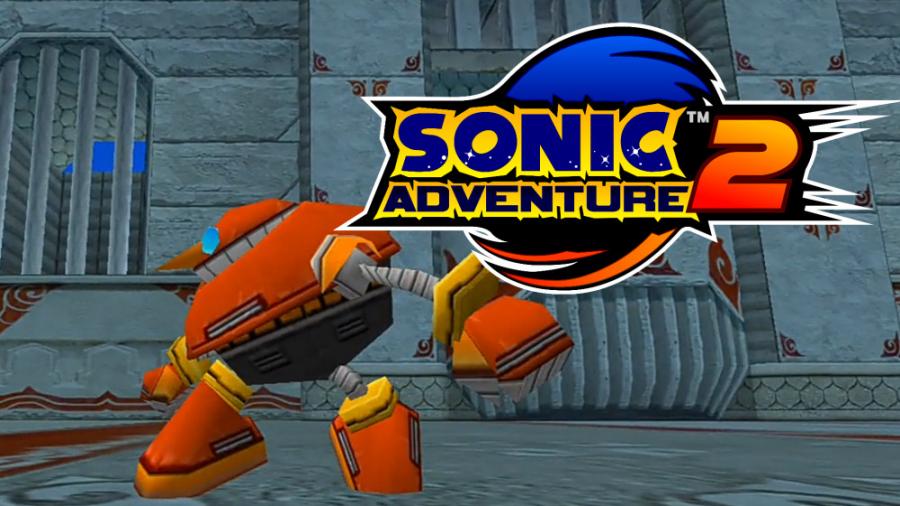 Sonic Adventure 2 مود eggpawn+ Sonic heroes pack