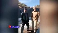 ویدئویی دیده نشده از شهید سلیمانی در زادگاهش