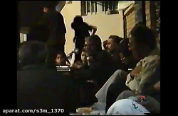 مرحوم حاج پرویز زرسنج-مراسم احیای شب عاشورا سال 1372-يمـةذكرينيمنتمرزفةشباب